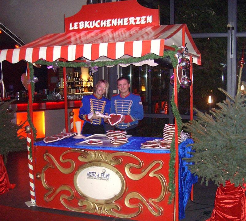 Weihnachtsmarkt-Lebkuchen